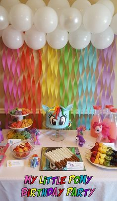 32 Great Image of My Little Pony Birthday Cake My Little Pony Birthday Cake Patty Cakes Bakery My Little Pony Birthday Party My Little Pony Party, Fiesta Little Pony, Cumple My Little Pony, Little Girl Birthday, My Little Pony Unicorn, Bday Girl, Rainbow Dash Party, Rainbow Birthday, Unicorn Birthday Parties