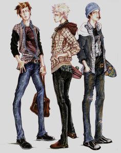 Design Illustrated by Paul Keng 2010 Copic Prisma Illustration Mode, Fashion Illustration Sketches, Fashion Design Sketches, Drawing Sketches, Sketching, Art Deco Fashion, I Love Fashion, Mens Fashion, Fashion Figures