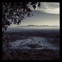 Rancho Cucamonga, California from the top of Haven