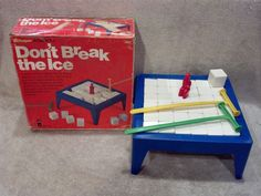 Vintage Schaper Don't Break The Ice Game 1976 - 100% Complete -SEE PICS! #SCHAPER