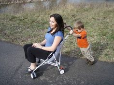 Too Big For a Stroller?