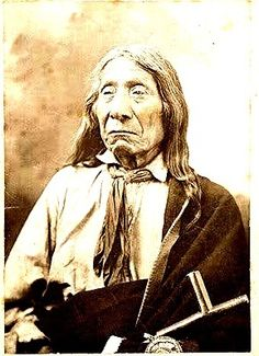 Red Cloud (1822-1909) was a war leader and a chief of the Oglala Lakota (Sioux). He led as a chief from 1868 to 1909. One of the most capable Native American opponents the United States Army faced, he led a successful campaign in 1866-1868 known as Red Cloud's War over control of the Powder River Country in northeastern Wyoming and southern Montana.