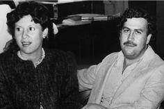 Pablo Escobar et sa femme, Victoria Henao, en 1983