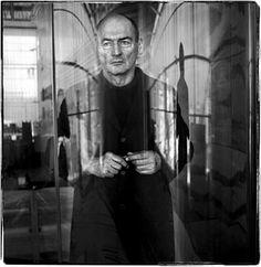 Rem Koolhaas (1944) - Dutch architect, architectural theorist, urbanist - Photo Steve Pyke, 2005