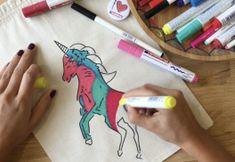 Video: edding tekstil kalemleri ile okul temalı kumaş çanta nasıl boyanır?