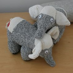 eddy and ellie sock elephants   Jesse Truong   Flickr