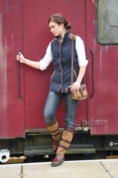 Dubarry Galway Boots perfect for fall. Love them, plus the purse!