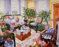 http://wallcoo.com/paint/Susan_Rios_Canvas_Paintings/images/Art_painting_of_Susan_Rios_03_Amaryllis_Too.JPG