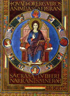 19 Ewangeliarz z Lorsch (łac. Codex Aureus Laureshamensis), zwany również Złotym Kodeksem z Lorsch – średniowieczna bogato iluminowana księga liturgiczna powstała w ok. 810 r. na dworze Karola Wielkiego.
