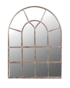 MirrorDeco — Arched Window Pane Mirror (Metal Frame, H: Arched Window Mirror, Arch Mirror, Arched Windows, Wall Mirrors, Unique Mirrors, Beautiful Mirrors, Mirrored Furniture, Shabby Chic Furniture, Luxury Furniture