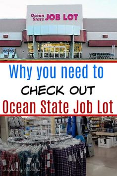 There are so many great benefits to shopping at Ocean State Job Lot. In fact, you are going to fall in love with all the savings opportunities. Come see why you need to checkout this store. Saving Ideas, Money Saving Tips, Family Budget, Frugal Living Tips, Frugal Meals, Menu Planning, Grocery Store, Benefit, Budgeting