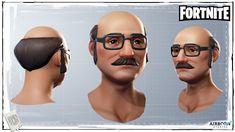 ArtStation - Fortnite Character Head Batch 06, Airborn Studios
