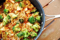 Your kids will LOVE this chicken yakisoba! #BabyCenterBlog