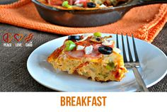 Low-Carb Breakfast Recipes from Peace+Love+LowCarb