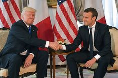 "French President Macron Admitted That His Handshake With Trump Was ""Not Innocent"""