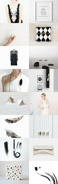 be you by Barbara on Minimalist Fashion, Gift Guide, Black And White, Grey, Women, Decor, Style, Gray, Swag