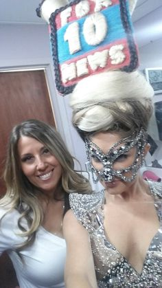 Hair Wars Arizona 2015 on Fox 10 News! #HairHairs2015 #FOX10Phx #PrettyDollfacedAZ