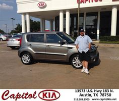 https://flic.kr/p/BTRps1 | #HappyBirthday to Cesar from Jeremiah Goree at Capitol Kia! | deliverymaxx.com/DealerReviews.aspx?DealerCode=RXQC