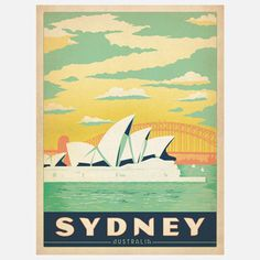 Anderson Design Group: World Travel Sydney Print, at 26% off!