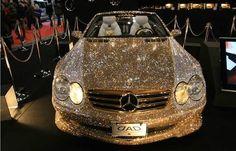 Diamond Covered MercedesThanks