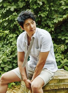 Lee Sang Woo - Sure Magazine July Issue '15