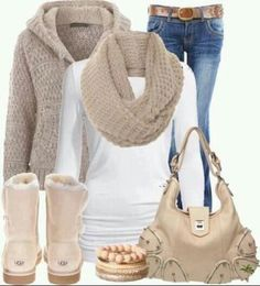 comfy fall outfit!