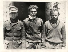1944- German soldiers who were captured by the Allied 5th Army in Castleforte, Italy.