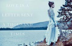 frida scandinavia shoot1 800x516 Frida Gustavsson Enchants for Scandinavia S/S/A/W by Boe Marion