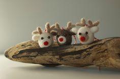 Christmas  felt reindeer.