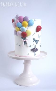 Thatbakinggirl - balloon cake