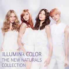Illumina color makes your fair feel healthier and shinier than un colored hair.