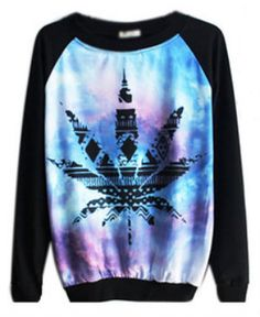 Skinny Bitch Apparel - Weed Leaf Pullover, $40.00 (http://www.skinnybitchapparel.com/weed-leaf-pullover/)