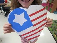 Pledge Hearts-inside is the pledge to the flag-great for Constitution Day and 9/11 Rememberance Day.