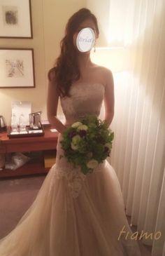 ドレスから色打掛へとチェンジ♡お洒落花嫁さまの素敵な1日 | 大人可愛いブライダルヘアメイク 『tiamo』 の結婚カタログ