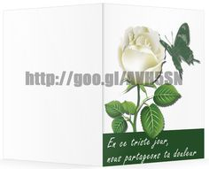 Modele Gratuit Carte De Condoléances En Francais Pour Ms Word Avec Fleur Rose De Conception http://cartedecondoleances.blogspot.com/2015/06/gratuit-carte-de-condoleances-en-francais.html