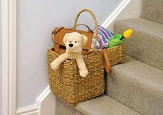 Cute Stair Basket