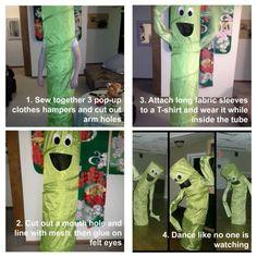 DIY Halloween Costumes Ideas: Wacky, Waving Inflatable Tube Man