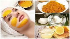 Revitaliser votre peau avec ce masque curcuma, huile de coco et citron