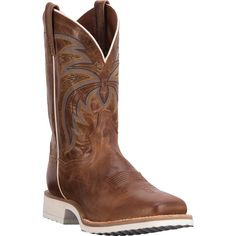 Dan Post Cowboy Certified Mens Chestnut Cayenne Leather Boots 11in