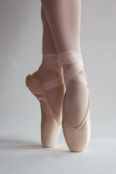 This is too pretty. No ones pointe shoes are ever this clean.