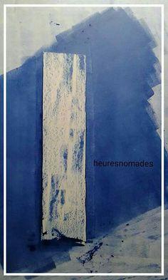 #heuresnomades  Technical mix / cardboard 64 x 90 cm.