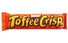 Toffee Crisp.. so obsessed with these right now!