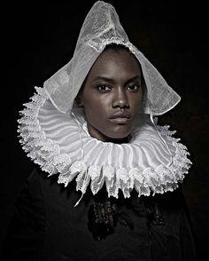 Historical Correction by Maxine Helfman #portrait #photography #flemishmasters #maxinehelfman