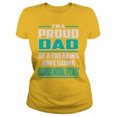Hazardous Material Specialist Proud DAD Job Title T-Shirts #gift #ideas #Popular #Everything #Videos #Shop #Animals #pets #Architecture #Art #Cars #motorcycles #Celebrities #DIY #crafts #Design #Education #Entertainment #Food #drink #Gardening #Geek #Hair #beauty #Health #fitness #History #Holidays #events #Home decor #Humor #Illustrations #posters #Kids #parenting #Men #Outdoors #Photography #Products #Quotes #Science #nature #Sports #Tattoos #Technology #Travel #Weddings #Women