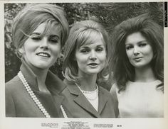 actresses Ann-Margret, Carol Lynley and Pamela Tiffin in 'The Pleasure Seekers', directed by Jean Negulesco, Get premium, high resolution news photos at Getty Images Vintage Hollywood, Classic Hollywood, Pamela Tiffin, Ann Margret Photos, Cincinnati Kids, Carol Lynley, Pleasure Seeker, Black And White People, Famous Faces