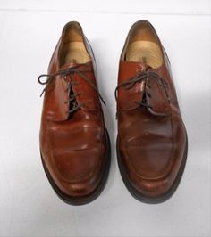 Johnston Murphy Signature Series Brown Leather Lace Up Shoes Sz Oxfords Leather And Lace, Brown Leather, Lace Up Shoes, Dress Shoes, Johnson And Murphy, Johnston And Murphy Shoes, Oxfords, Oxford Shoes, Pairs