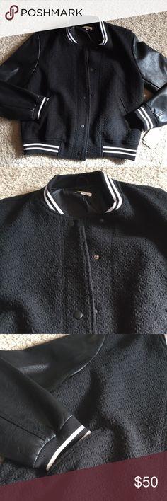 NWT Abound varsity jacket NWT black varsity jacket size M Abound Jackets & Coats