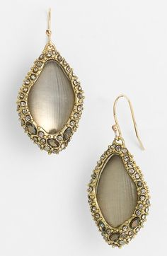 Alexis Bittar 'Lucite® - Neo Bohemian' Pavé Encased Drop Earrings available at #Nordstrom