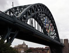 TYNE BRIDGE | TYNESIDE | TYNE & WEAR | ENGLAND: *Opened: 10 October 1928; A Through Arch Bridge, crossing the River Tyne and connecting Newcastle Upon Tyne & Gateshead*