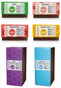 Great patterns matching the flavors on this #packaging PD